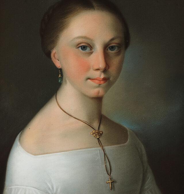 Selbstporträt (Franziska Riotte)