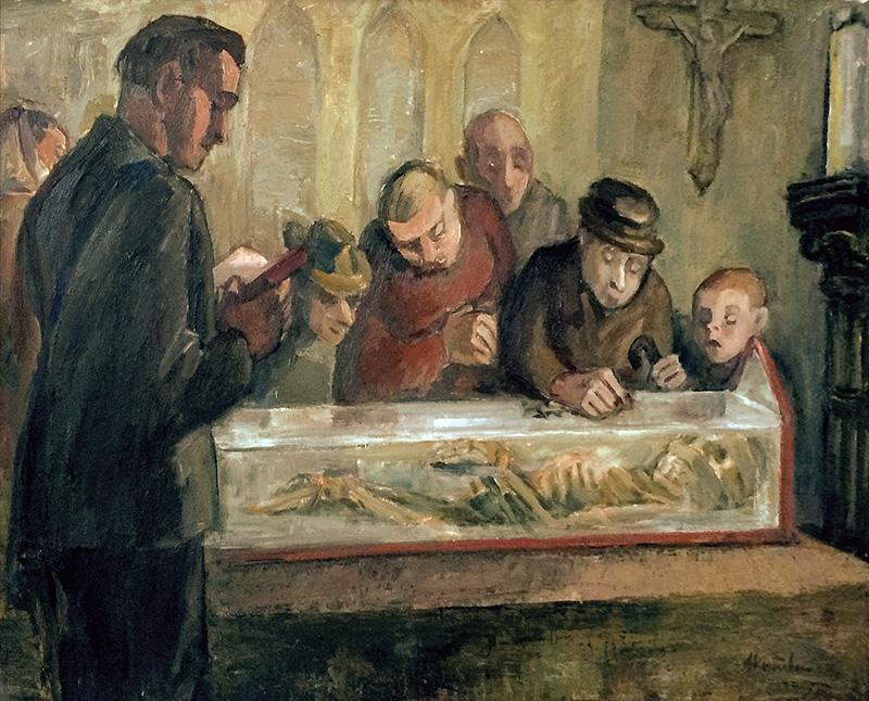 Die Gebeine des heiligen Wendalinus (Mia Münster)