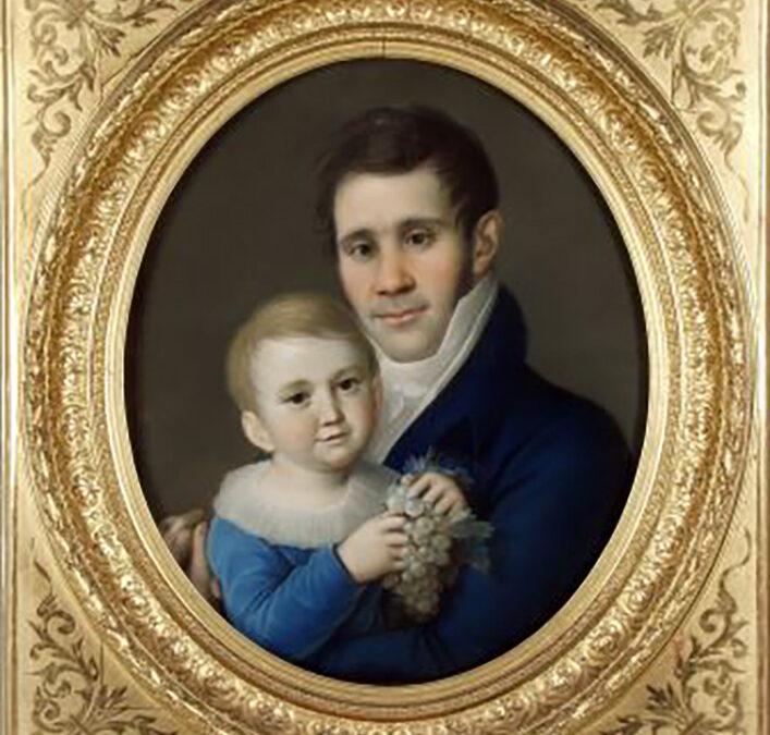 Nikolaus Cetto mit Sohn Konrad (Nikolaus Lauer)