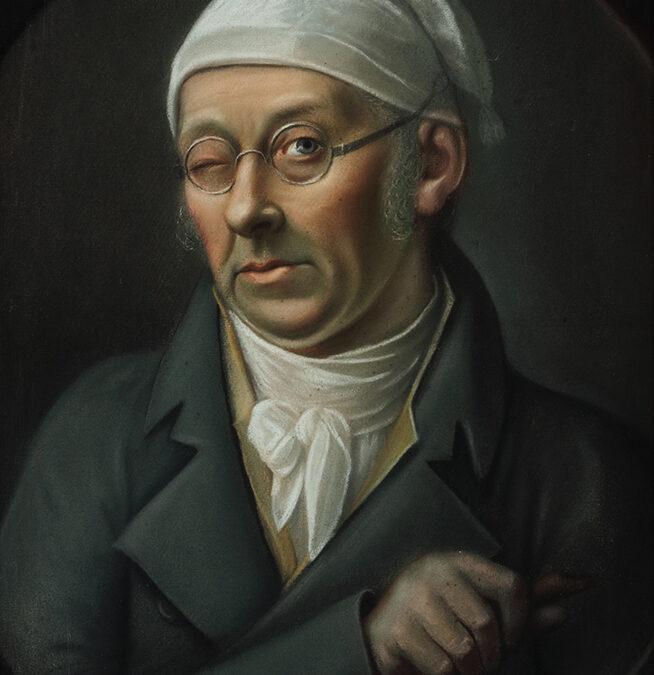 Nikolaus Lauer mit Mütze und Brille (Michael Tholey)